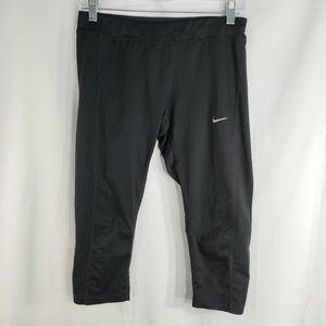Nike Dri Fit Capris Workout Leggings Size Medium